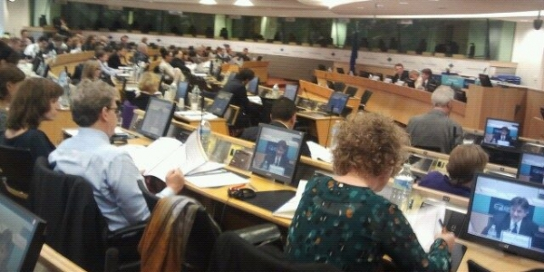 Presentation of ESPONTrain, Brussels, Committee of the Regions,10 October 2014