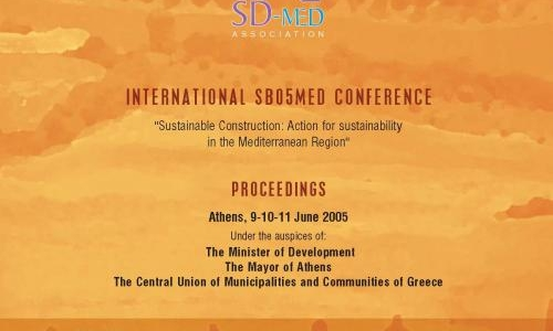 Action plan for sustainable building and construction in the Mediterranean